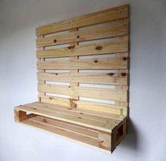 Pin on pallet Wooden Pallet Furniture, Wooden Pallets, Diy Furniture, Diy Pallet Projects, Pallet Ideas, Wood Projects, Diy Bedroom Decor, Diy Home Decor, Palette Diy