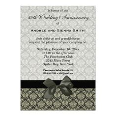 Damask 50th Wedding Anniversary Invitations we are given they also recommend where is the best to buyHow to          Damask 50th Wedding Anniversary Invitations today easy to Shops & Purchase Online - transferred directly secure and trusted checkout...