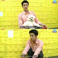 "【160622】Sehun EXOMENTARY LIVE ""SEHUN is careful boy!"" ㅡ© Owner | #exo #sehun…"