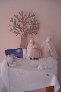 Winter ~ King & Queen Winter ~ Nature Table