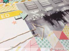 Scrapbooking Herringbone Background Tutorial   The Paper Curator