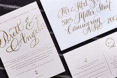 Wedding Invitations   Bespoke Letterpress