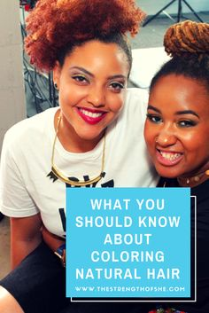 This is the time of the year where my natural sistas start to look for a new color to dye their hair for this wonderful season. What should you know about coloring your natural hair?