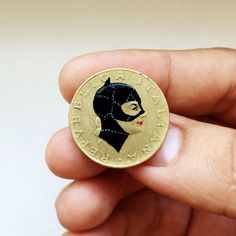 coin portraits by Andre Levy