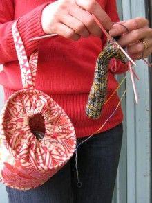 mobile yarn tote