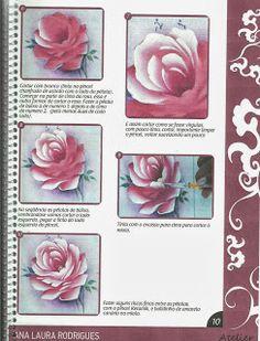 rosa porcelana