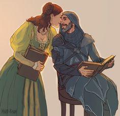 Ezio & Sofia. Assassin's Creed Revelations.