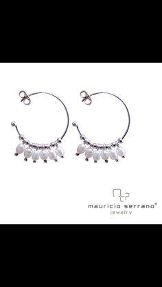 A Classic will Always be #ATrueJewel. #mauricioserrano #mexico #2015 #art #fashion #jewelry #joyas #plata #pearls #hoops