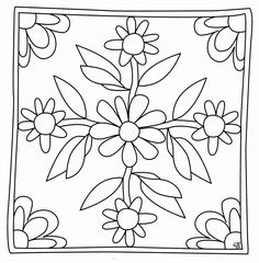 mandala coloring pages pdf Cushion Embroidery, Embroidered Cushions, Embroidery Art, Border Embroidery Designs, Floral Embroidery Patterns, Flower Patterns, Dot Painting, Fabric Painting, Bed Cover Design