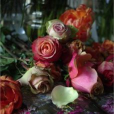 t haagsche bloemenhofje maakt boeketten die echt prachtig zijn!