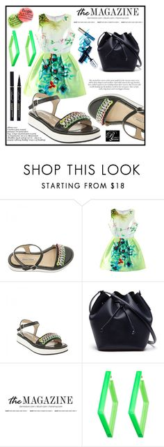 """""""RinaStore #23 / III"""" by amra-sarajlic ❤ liked on Polyvore featuring WithChic, Lacoste, Alexis Bittar, rinastore and rinasboutique"""
