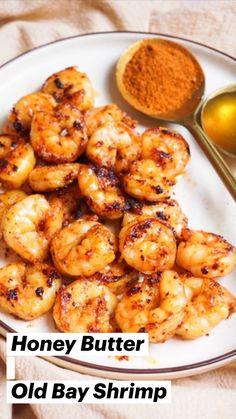 Shrimp Recipes For Dinner, Shrimp Recipes Easy, Chicken Recipes, Salmon Recipes, Healthy Delicious Dinner Recipes, Meals With Shrimp, Quick And Easy Recipes, Healthy Dinner Meals, Simple Healthy Recipes