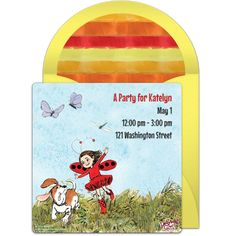 Customizable, free Ladybug Girl Field online invitations. Easy to personalize and send for a Ladybug Girl birthday party. #punchbowl