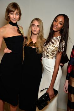 Karlie Kloss, Cara Delenvigne e Jourdan Dunn for Burberry Prorsum Fall 2013 Ready-to-Wear Collection