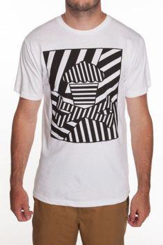 Johnny-Cupcakes-T-Shirt-Mens-MEDIUM-Line-Cupcake-Crossbones-Logo