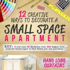 12 small space ideas to consider