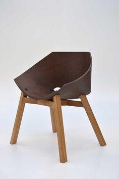 """Corkigami"": the Cork Chair by Carlos Ortega Design"