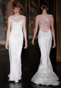 Brides: Get the Look: Priscilla Chan wife to Mark Zuckerberg - Claire Pettibone dress