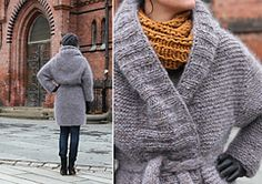 Free L-XL pattern on Ravelry: Outer coat by Anna & Heidi Pickles