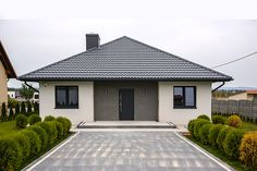 House Layout Plans, House Layouts, Bungalow House Plans, Dream House Plans, Exterior House Colors, Exterior Design, One Storey House, Affordable House Plans, Three Bedroom House Plan