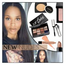 """Fall Beauty: Nude Color Palette/ Ciara"" by melindairenes ❤ liked on Polyvore featuring beauty, NYX, Bare Escentuals, Lancôme, Bobbi Brown Cosmetics, newnudes, thankslovelyladies, blessyouall and thanksamillion"