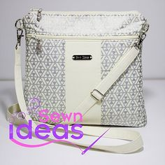 The Timeless Cross-body Bag – Sew and Sell!  A Digital Sewing Pattern from Sewn Ideas