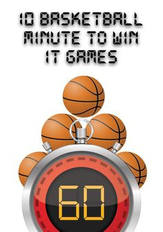Basketball Minute to Win It Games – Minute to Win It Games for Kids … Basketball Minute um es zu. Basketball Games For Kids, Basketball Birthday Parties, Basketball Tricks, Basketball Workouts, Basketball Pictures, Birthday Games, Basketball Academy, Basketball Court, Kids Basketball Games