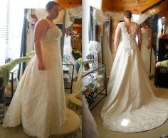 The ultimate guide to plus-size wedding dress shopping.