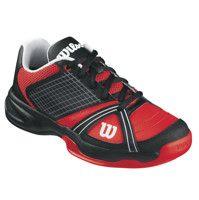 Wilson Tennisschuhe Rush NGX Junior Unisex Junior black/red