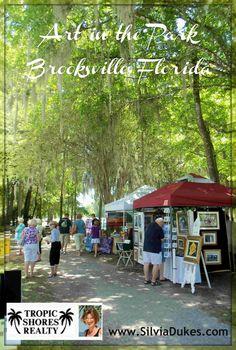 Art in the Park Festival in Brooksville Florida