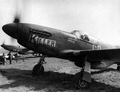 A razorback Mustang from the 354th FG, 100th FW.