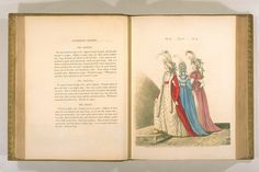 Red and blue Robe a la Polonoise, Gallery of Fashion, January, 1795