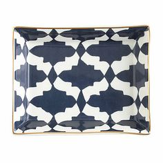 J.Crew Ceramic Jewelry Tray: No, your eyes aren't deceiving you — J.Crew's Ceramic Jewelry Tray in crisp navy and white with luxe gold edging is really just $20. She can use it on her vanity or nightstand for jewelry, eyeglasses, or whatever she pleases!