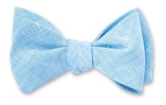 Products > Bow Ties > Prints Linen bow ties for the men! Unique option and goes with theme!