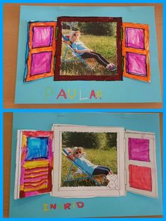 Tapa P4. Foto dels nens disfressats amb complements d'estiu.