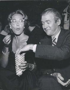 Gloria and James Stewart