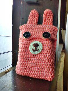 crochet: handphone case candelline's project