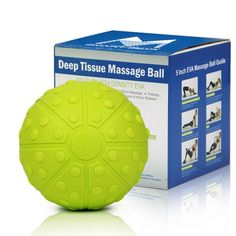 Precio:US $19.67  The 5Billion-Fitness Deep Tissue Massage Ball is simply the BEST SOLUTION you can find in the market for Targeted Massage, Stretching, improved Flexibility, Rehabilitation, Myofascial Release and other Therapies.