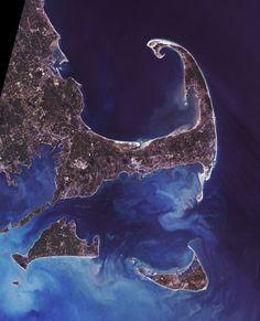 Cape Cod vu du ciel