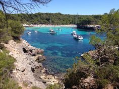 Cala Turqueta en Ciutadella, Menorca