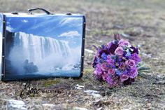 Elope in Niagara anyone? we have the perfect getaway suitcase for the bride!