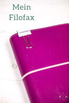 Organize my Life: Meine Filofax Organisation inkl. Blogplanung, Essenplaner und ein paar Tipps   relleomein.de #filofax #ordnung #organize
