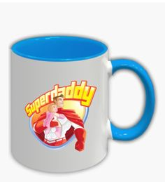 SuperDaddy Mugs /Dad mug/Anniversary SuperDaddy Mugs/Daddy Superhero Mug/Fathers Day Gift/ Baby shower gift/ Newborn Gift /Gift for Step Dad Dimensions:height:94 mm Diameter 74 mm Capacity: 325 millimeters We present you the SuperDaddy Mug that will delight your heart every morning when you drink coffee /tea / or other drinks. The hero on the cup is superman, because every child should see his father as a super hero. Colors:Black/Green/Orange/Blue/Dark blue/Red. -Ceramic -Glossy and white Dad Mug, Drink Coffee, Newborn Gifts, Green And Orange, Fathers Day Gifts, Superman, Baby Shower Gifts, Dark Blue, Daddy