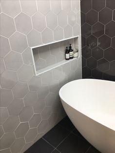 Clawfoot Tub Bathroom, Modern Bathroom Tile, Vessel Sink Bathroom, Boho Bathroom, Bathroom Renos, Bathroom Interior Design, Master Bathroom, Bathroom Designs, Guest Bathrooms
