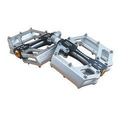 FIXIE MTB CNC Aluminium-Plattform Pedale Fahrrad-Pedale Rot BMX