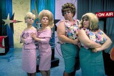 Colleen Fitzpatrick, Debbie Harry, Divine, and Ricki Lake, Hairspray, 1988