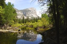 Yosemite - mirror lake