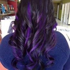 Purple peekaboo highlights jpg picmia hair styles purple peekaboo highlights google search pmusecretfo Image collections