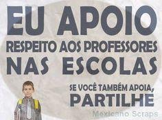 Um professor é a personificada consciência do aluno
