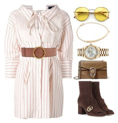 """""""///"""" by lunaashton ❤ liked on Polyvore featuring Jacquemus, STELLA McCARTNEY, Gucci, Rolex, Jennifer Zeuner and Wildfox"""